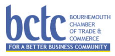 Bournemouth Chamber of Trade and Commerce logo