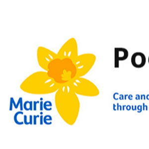 Poole Marie Curie Fundraising Group logo