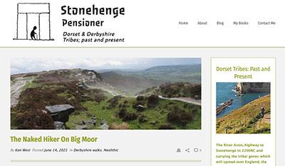 Stonehenge Pensioner blog homepage