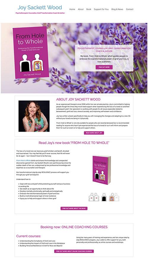 Joy Sackett Wood homepage